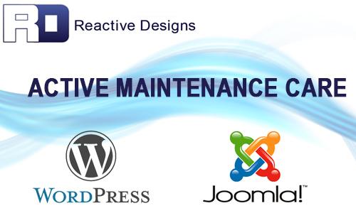 WordPress Joomla Updates Website Support Reactive Designs Moose Jaw